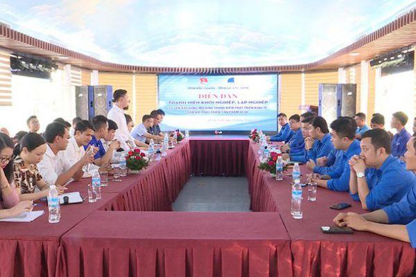 Diễn đàn thanh niên khởi nghiệp, lập nghiệp Quảng Ninh - Bắc Giang
